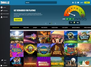 thrill casino review