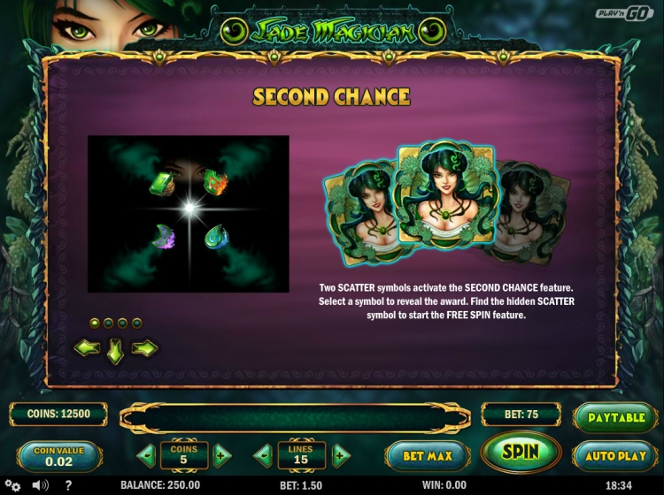 Jade Magician second chance feature