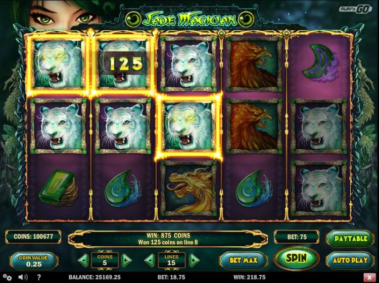 Jade Magician play n go gokkast