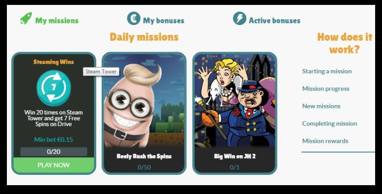 bonus cashmio