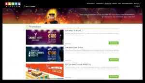 Slots Million casino promoties