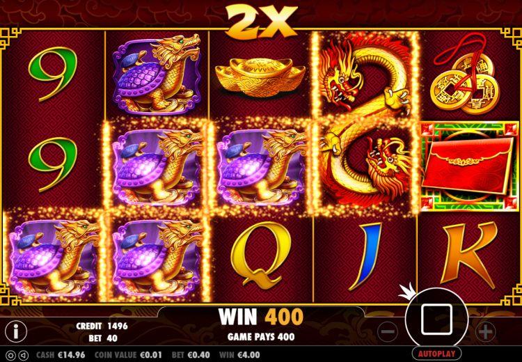 8 dragons pragmatic play win