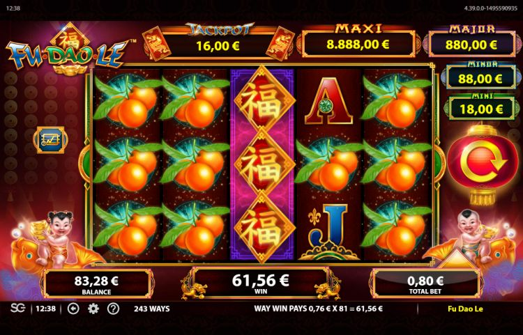 Fu Dao Le gokkast bally review big win 6