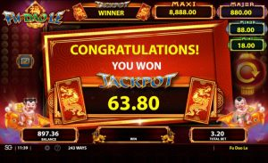 Fu Dao Le gokkast bally review jackpot win