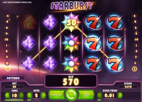 Starburst gratis spelen