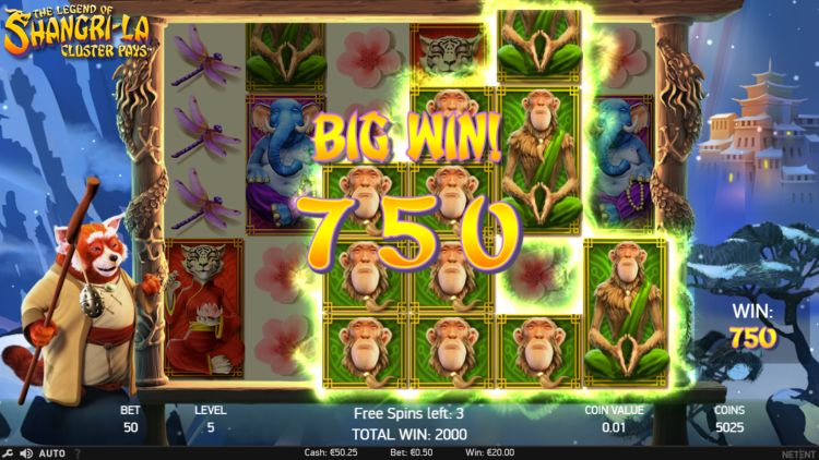 the legend of shangri la gokkast big win