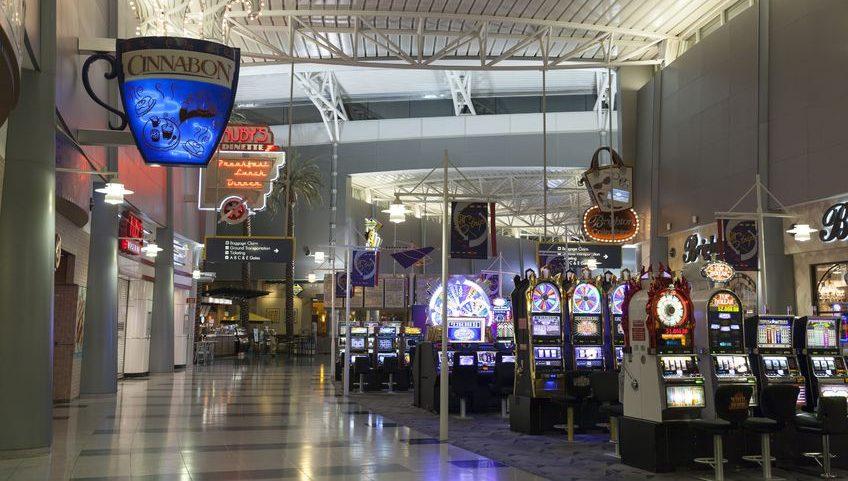 Las vegas vliegveld gokkasten