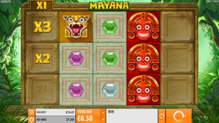 Mayana gokkast quickspin