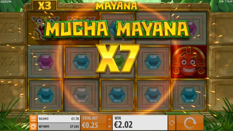 Mayana quickspin big win 2