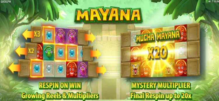 Mayana quickspin