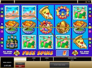 Spring Break Microgaming free spins win