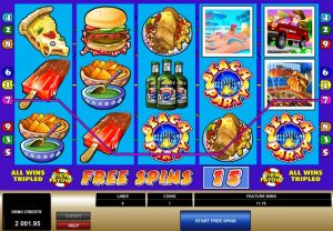 Spring Break Microgaming gratis spins bonus