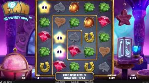 finn and the swirly spin netent free spins