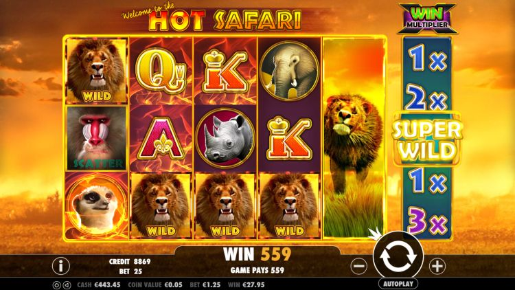 Hot Safari Pragmatic play